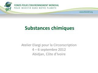 Substances chimiques