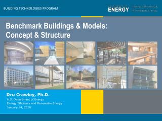 BUILDING TECHNOLOGIES PROGRAM