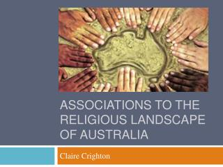 Associations to the Religious Landscape of Australia