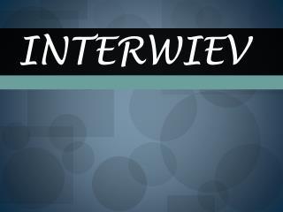 Interwiev