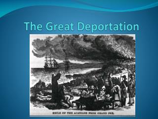The Great Deportation