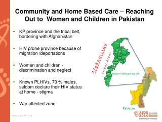 Community and Home Based Care – Reaching Out to  Women and Children in Pakistan