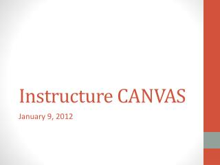 Instructure CANVAS