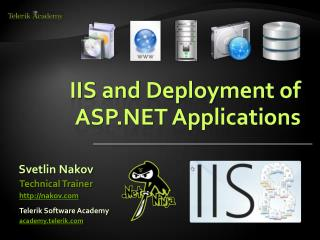IIS and Deployment of ASP.NET Applications