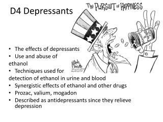 D4  Depressants