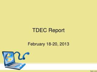 TDEC Report