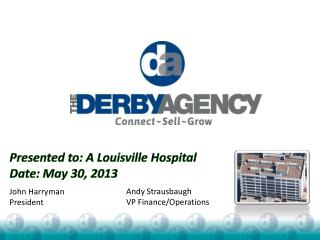 Presented to:  A Louisville Hospital Date :  May 30, 2013