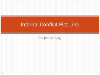 Internal Conflict Plot Line