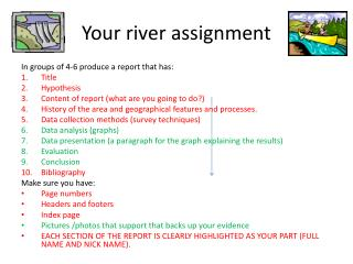 Your river assignment