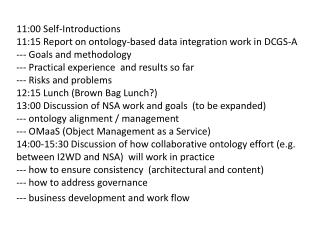DSC  Ontology Work