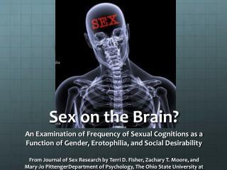 Sex on the Brain?