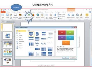 Using Smart Art