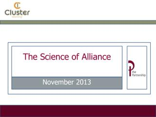 The Science of Alliance