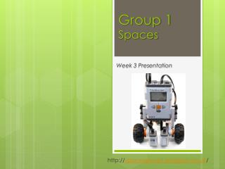 Group 1  Spaces