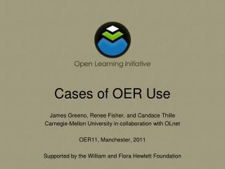 Cases of OER Use