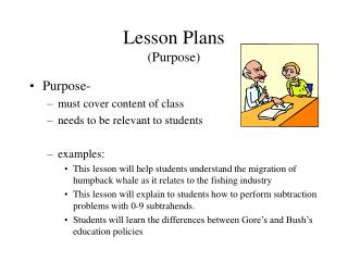 Lesson Plans Purpose