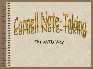 The AVID Way