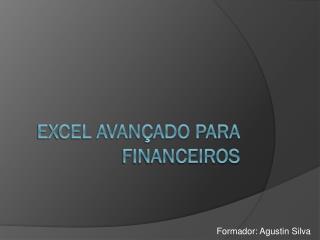Excel avançado para financeiros