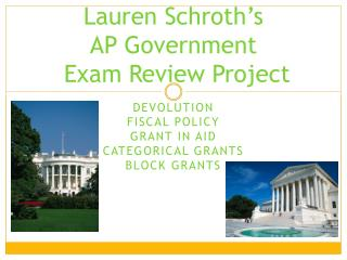 Lauren Schroth's  AP Government  Exam Review Project