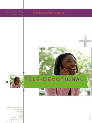 Tele-Devotional Proposal