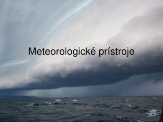 Meteorologick  pr stroje
