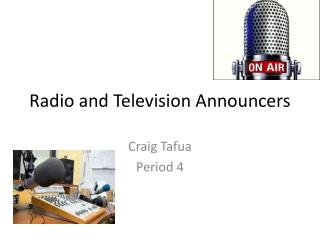 Radio and Television Announcers