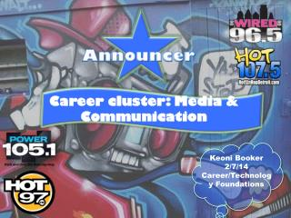 Career cluster: Media & Communication