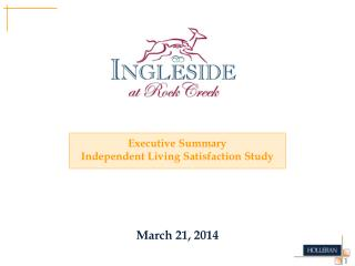 Executive Summary Independent Living Satisfaction Study