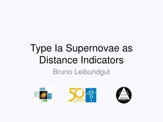 Type  Ia  Supernovae as Distance Indicators
