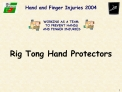 Hand and Finger Injuries 2004