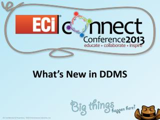 What's New in DDMS