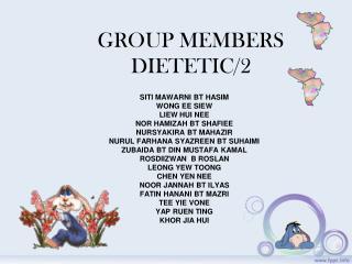 GROUP MEMBERS DIETETIC/2