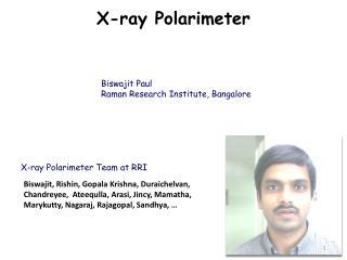 X-ray Polarimeter