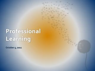 Professional Learning