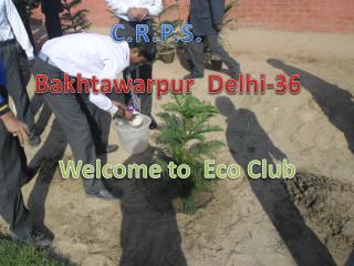 Welcome to   E co Club