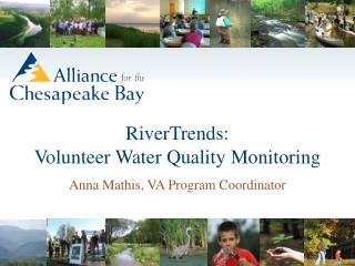 RiverTrends: Volunteer Water Quality Monitoring