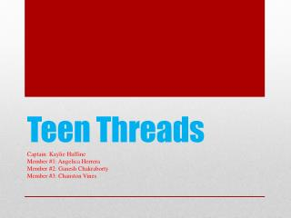 Teen Threads
