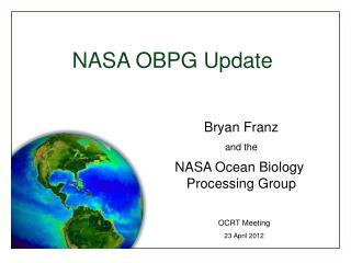 NASA OBPG Update