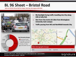 BL 96 Sheet – Bristol Road