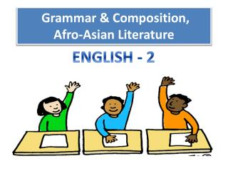 Grammar  & Composition,  Afro-Asian Literature