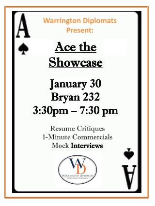 Ace the  Showcase