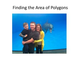 Finding the Area of Polygons