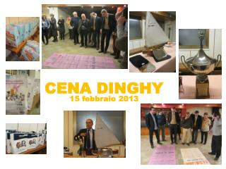 CENA DINGHY 15 febbraio 2013
