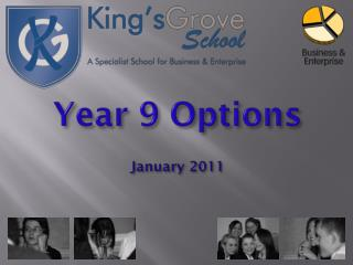 Year 9 Options January  2011