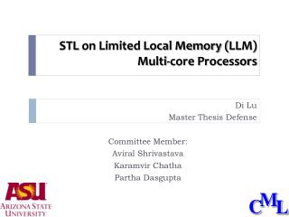 STL  on Limited Local Memory ( LLM) Multi-core Processors