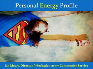 Personal  Energy  Profile