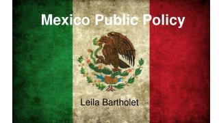 Mexico Public Policy