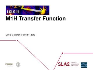 M1H Transfer Function