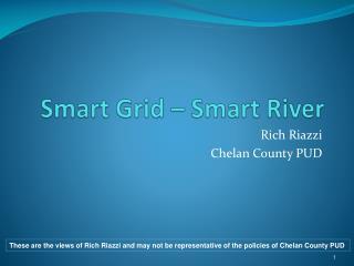 Smart Grid – Smart River