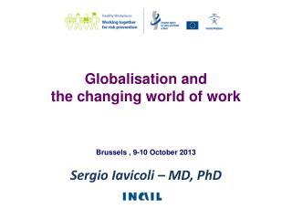 Sergio Iavicoli – MD,  PhD